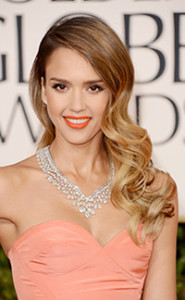 Jessica Alba Long Curly Hair